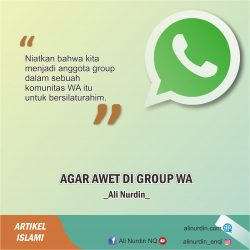 AGAR AWET DI GROUP WA